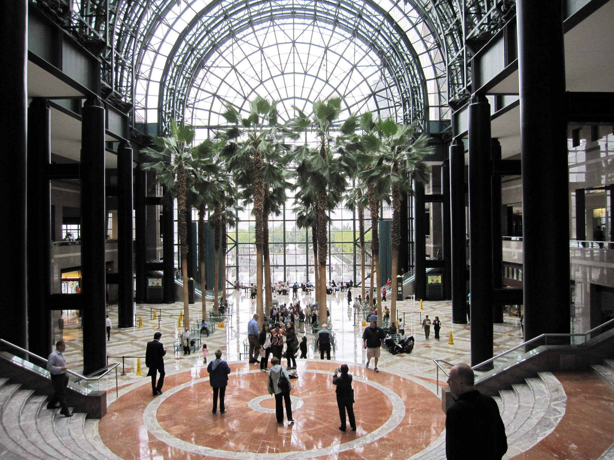 winter garden of world financial center recent pictures archive